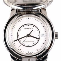 Tiffany Steel 37mm Automatic Atlas pre-owned United States of America, New York, Smithtown
