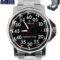 Corum Admiral's Cup (submodel) Steel 40mm Black Arabic numerals United States of America, New York, Smithtown