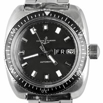Ulysse Nardin Steel Automatic Black 36mm pre-owned Diver