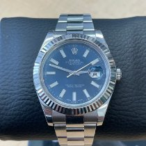 Rolex Datejust II Steel 41mm Blue No numerals United States of America, Florida, West Palm Beach