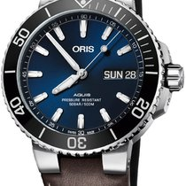 Oris Hammerhead Limited Edition Steel 45.5mm Blue United States of America, New York, Airmont