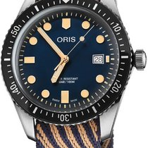 Oris Divers Sixty Five Steel 42mm Blue United States of America, New York, Airmont