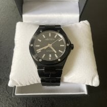 Michel Herbelin pre-owned Automatic 40,5mm Black Sapphire crystal 10 ATM