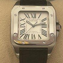 Cartier Santos 100 W20106X8 Muito bom Aço Automático