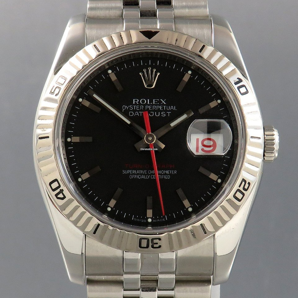 Rolex Datejust Turn-O-Graph 116264 2006 подержанные