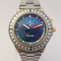 Lemania Steel 43mm Automatic pre-owned