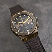 Hublot Bronze Automatic Brown No numerals 45mm pre-owned Classic Fusion