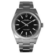 Rolex Oyster Perpetual 39 Staal 39mm Zwart Nederland, Purmerend