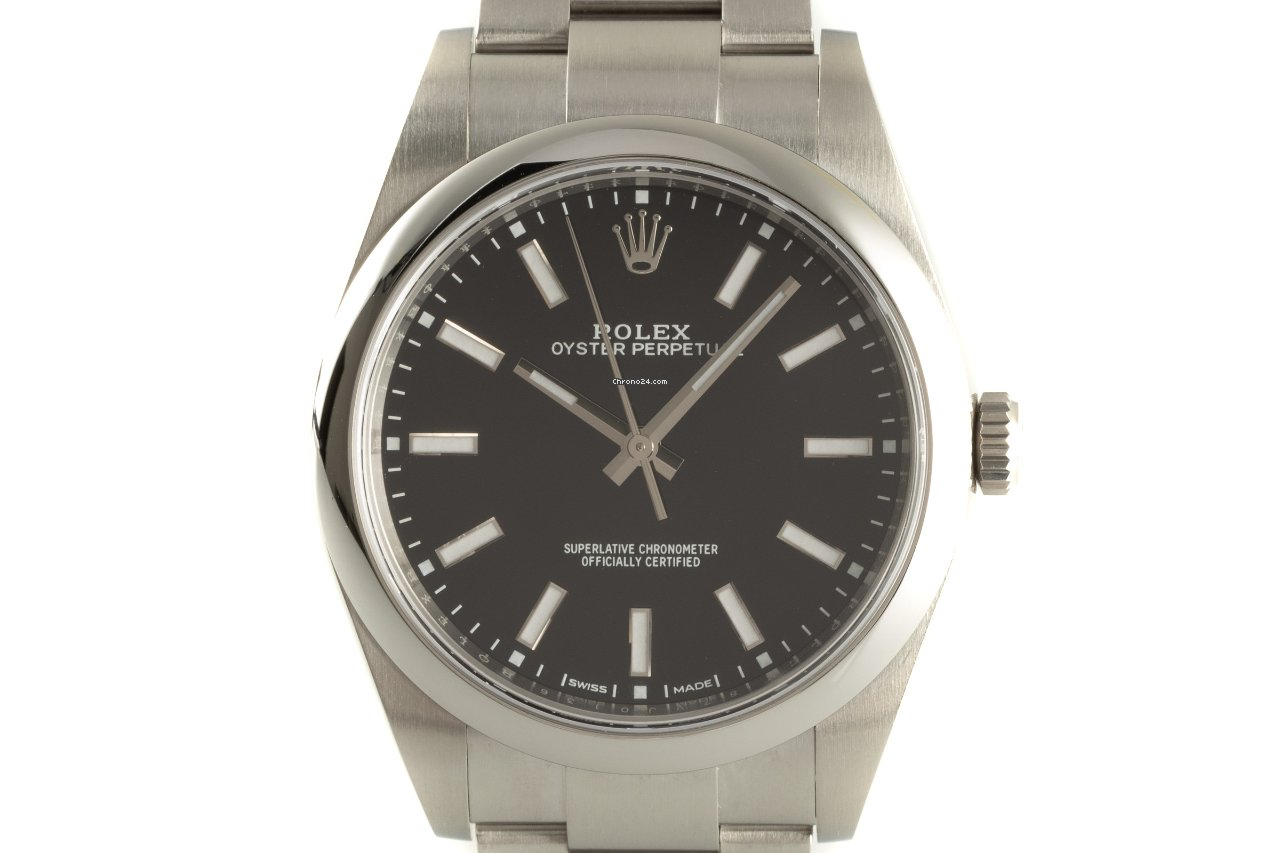 Rolex Oyster Perpetual 39 114300 2019 pre-owned