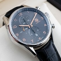 TAG Heuer Carrera Calibre 1887 Steel 43mm Grey United States of America, New Jersey, Englewood