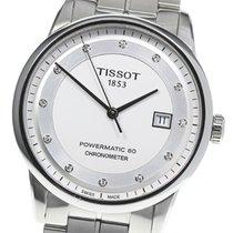 Tissot Luxury Automatic Сталь 41mm Cеребро