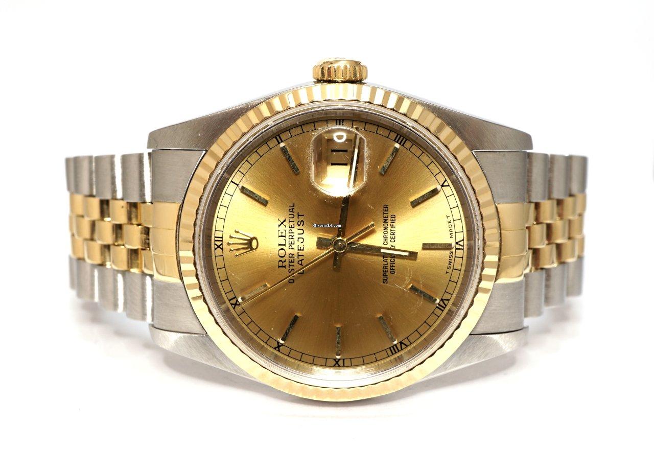 Rolex (ロレックス) Datejust 16233 1988 中古