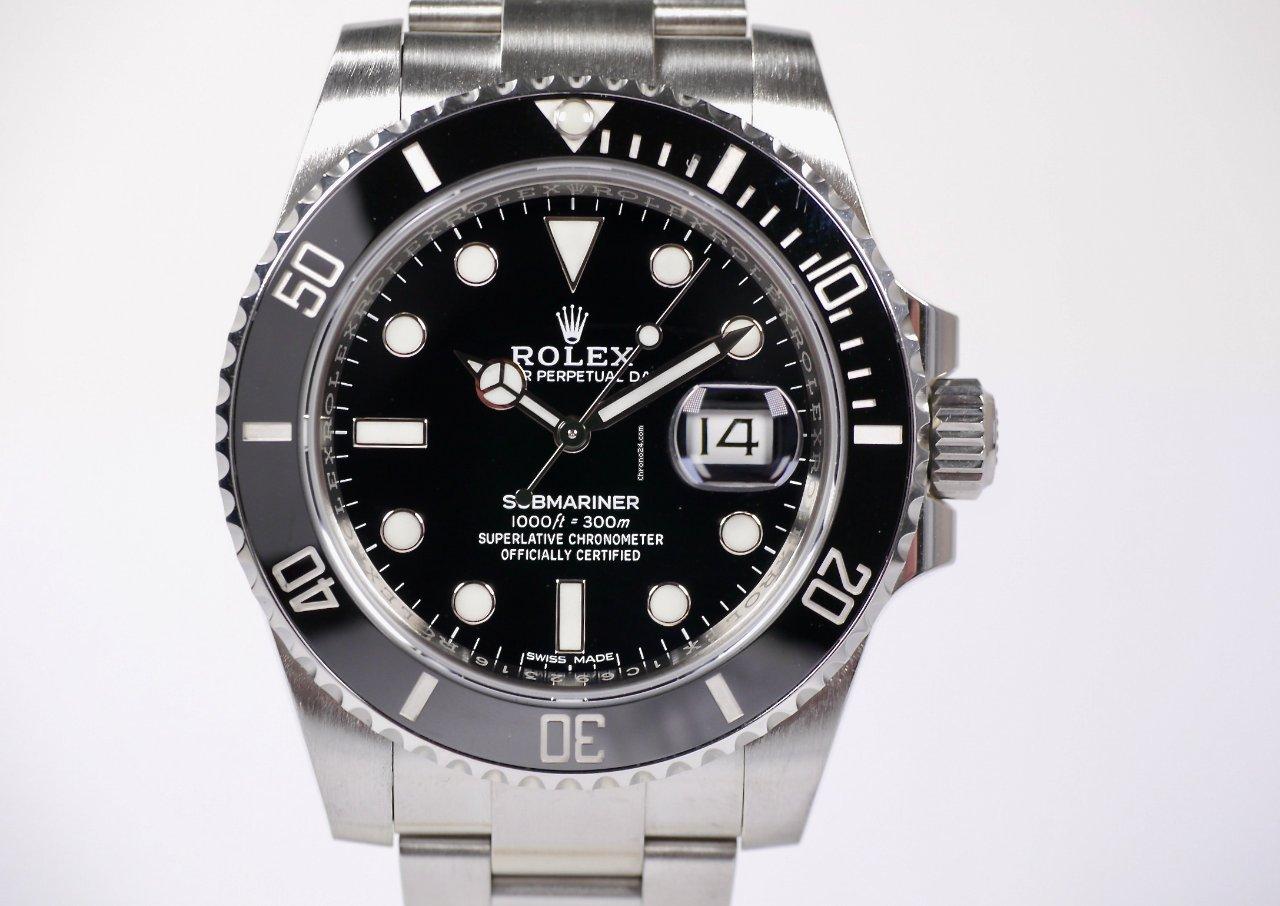 Rolex Submariner Date 116610LN 2020 gebraucht