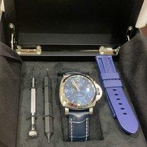 Panerai Luminor 1950 10 Days GMT neu 2021 Automatik Uhr mit Original-Box und Original-Papieren PAM 00986