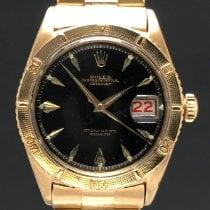 Rolex Datejust Turn-O-Graph Ouro amarelo Preto