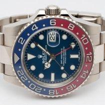 Rolex GMT-Master II White gold 40mm Blue No numerals Finland, Imatra