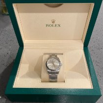 Rolex Oyster Perpetual 34 Steel 34mm Silver No numerals United States of America, North Carolina, Charlotte