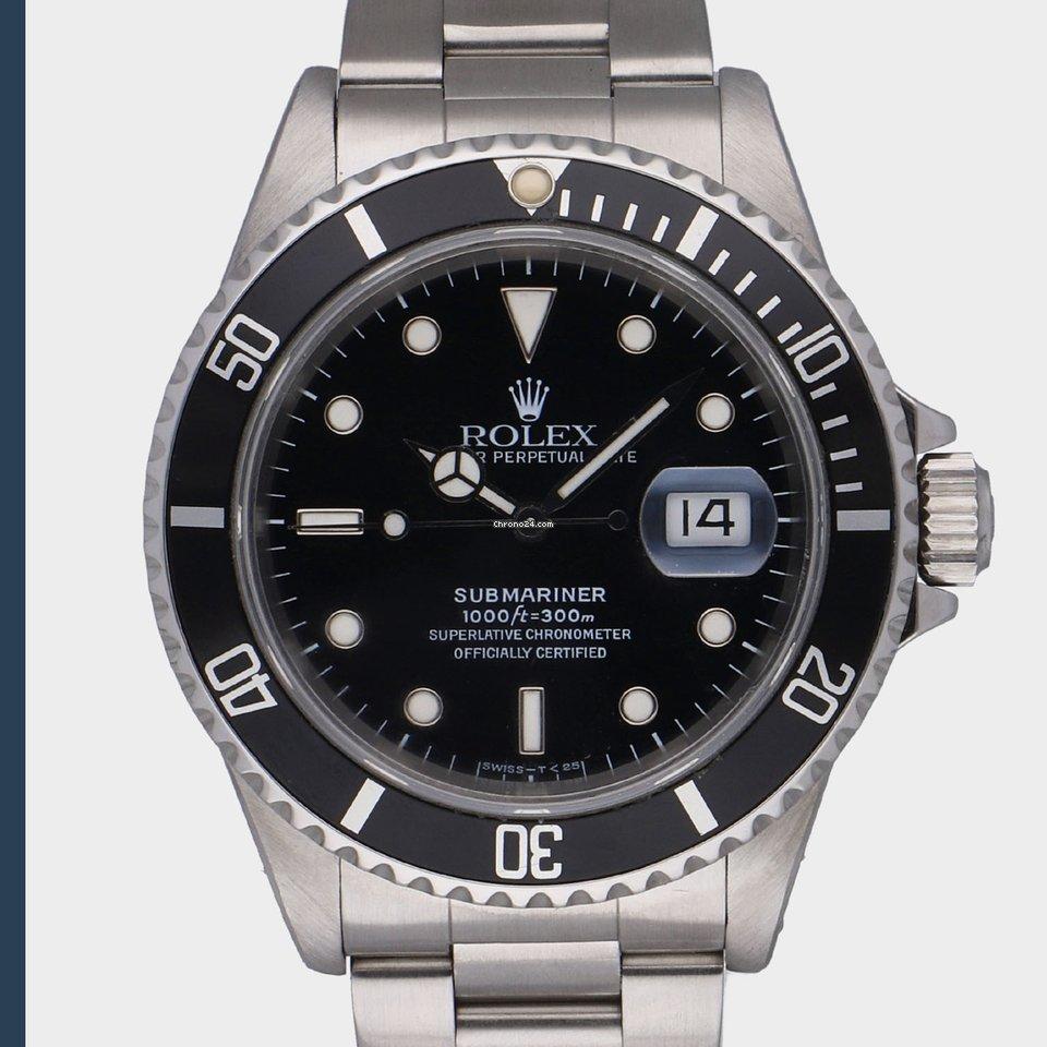 Rolex Submariner Date 16610 1995 használt