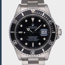 Rolex Submariner Date tweedehands 40mm Zwart Datum Staal