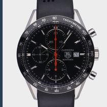 TAG Heuer Steel 41mm Automatic CV2014 pre-owned