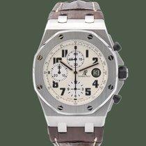 Audemars Piguet Royal Oak Offshore Chronograph Steel 42mm White Arabic numerals