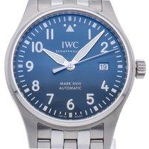 IWC (アイ・ダブリュー・シー) パイロット ウォッチ マーク ステンレス 40mm ブルー 日本, Sapporo-shi