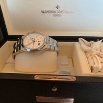 Vacheron Constantin Overseas Dual Time Steel 42mm Silver No numerals United States of America, New York, NEW YORK