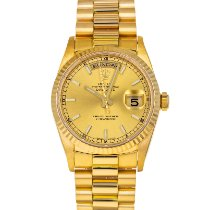 Rolex Day-Date 36 Yellow gold 36mm Champagne No numerals United States of America, Maryland, Baltimore, MD