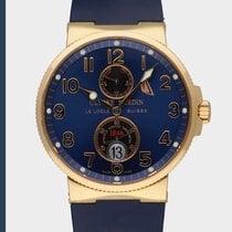 Ulysse Nardin Marine Chronometer 41mm Rose gold Black
