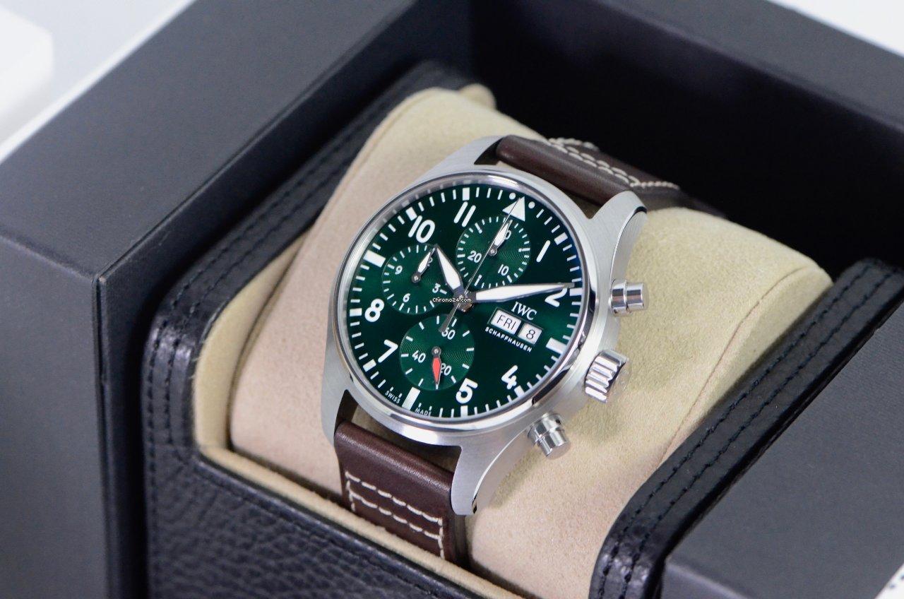 IWC Pilot Chronograph IW388103 2021 new