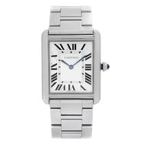 Cartier Tank Solo Steel 27mm Silver Roman numerals United States of America, New York, NYC