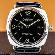 Panerai Radiomir Black Seal 3 Days Automatic Сталь 45mm Aрабские
