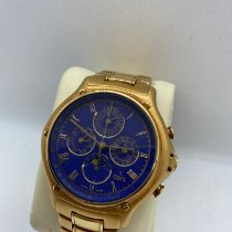 Ebel pre-owned Automatic 40mm Blue Sapphire crystal