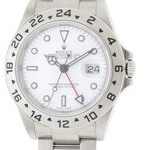 롤렉스 익스플로러 II 스틸 40mm 흰색