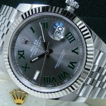 Rolex Datejust Steel 41mm Grey Roman numerals United States of America, Pennsylvania, HARRISBURG