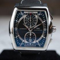 IWC Керамика Автоподзавод Черный подержанные Da Vinci Chronograph