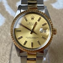 Rolex Oyster Perpetual Date Gold/Steel 34mm Champagne No numerals Indonesia, Tangerang Selatan
