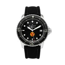 Blancpain pre-owned Automatic 45mm Black 30 ATM