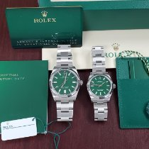 Rolex Oyster Perpetual 36 Steel 36mm Blue No numerals United States of America, California, Los Angeles