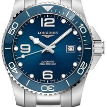 Longines HydroConquest Steel 41mm Blue Arabic numerals United States of America, New Jersey, River Edge