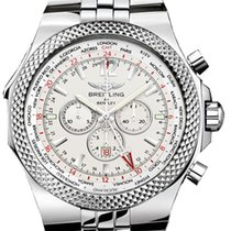 Breitling Bentley GMT Steel 49mm Silver No numerals United States of America, New Jersey, Edgewater