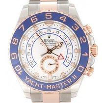 Rolex Yacht-Master II Stahl 44mm Weiß