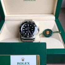 Rolex Sea-Dweller Deepsea Acier 44mm Noir Sans chiffres France, art sur meurthe
