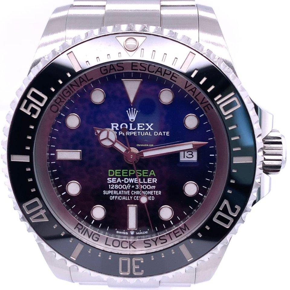 Rolex Sea-Dweller Deepsea 126660 D-BLUE 2020 neu