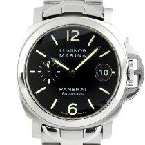 Panerai Luminor Marina Automatic Сталь 40mm Черный
