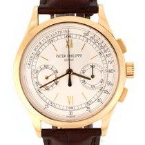 Patek Philippe Chronograph Желтое золото 39mm Cеребро