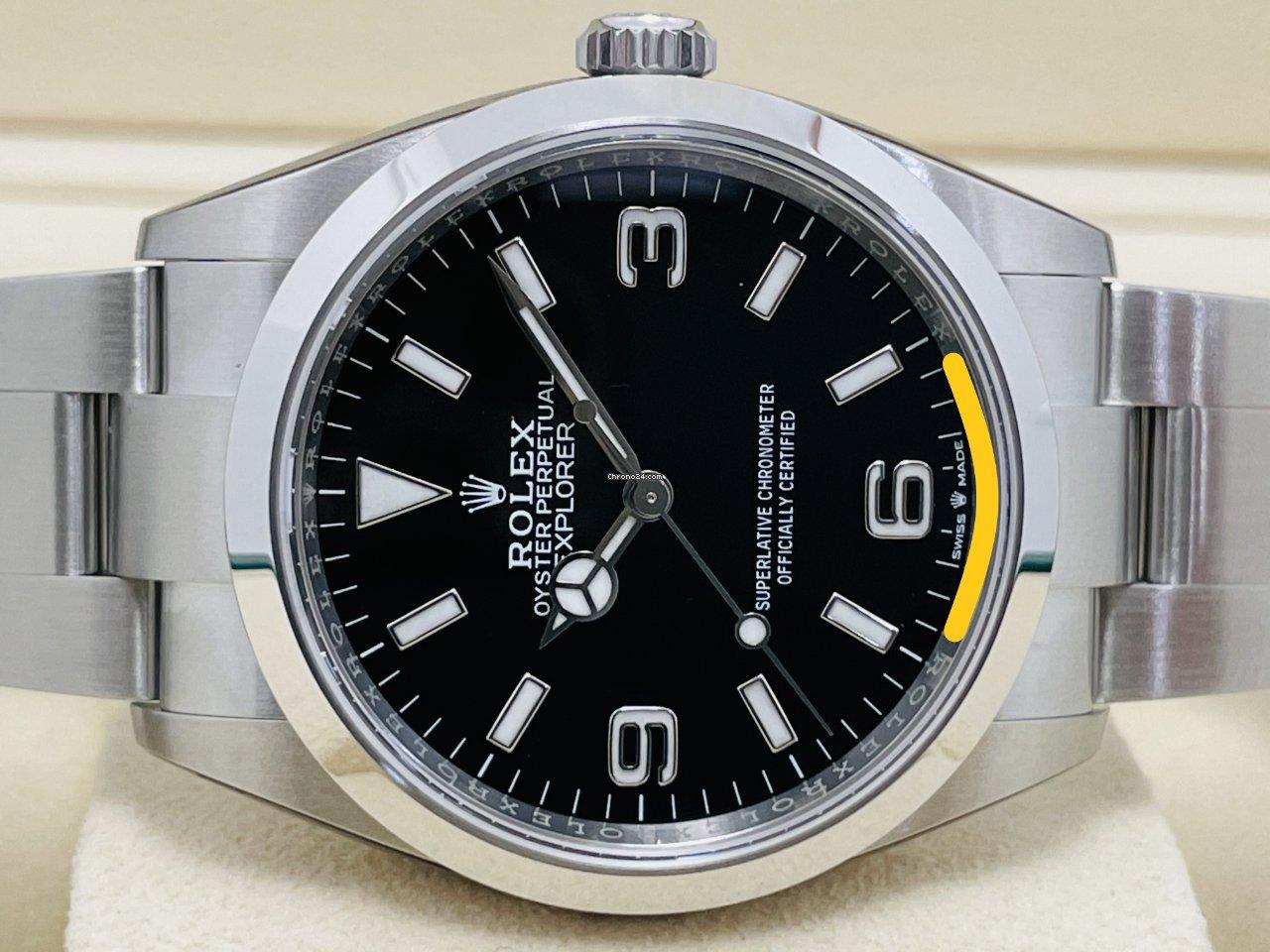 Rolex Explorer 124270 2021 new