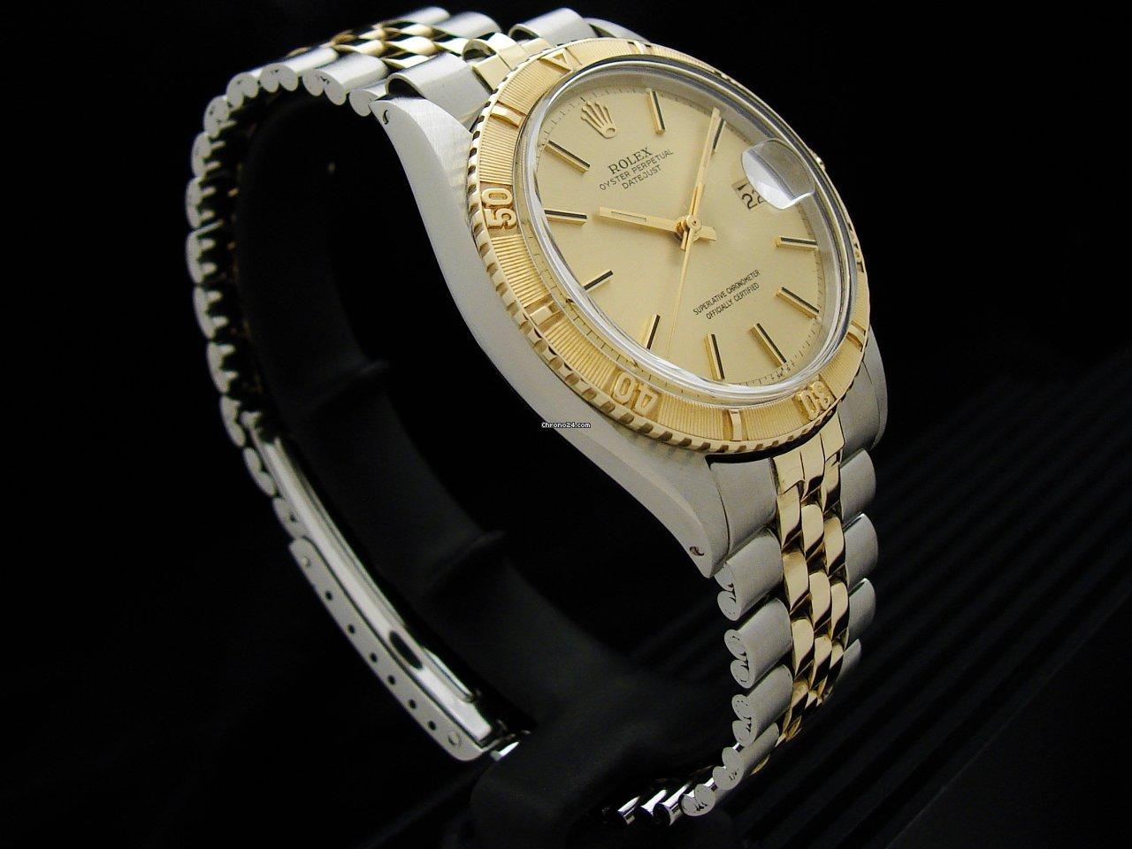 Rolex Datejust Turn-O-Graph 1625 1971 usato