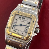 Cartier tweedehands Quartz Wit Saffierglas