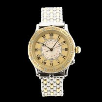Longines Lindbergh Hour Angle Gold/Steel Roman numerals
